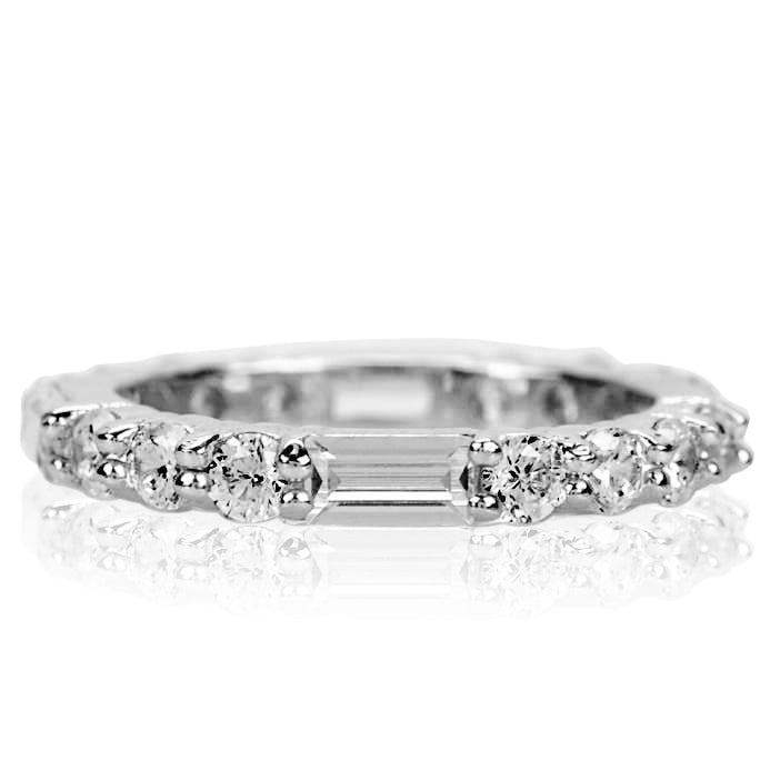 Womens Clear Sophia's Mixed Stone Eternity Band