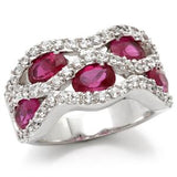 Womens None Victorian Style Ruby Red Ring 4