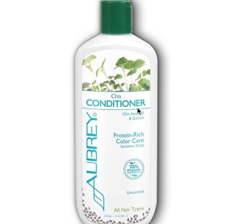 Aubrey Organics Chia Conditioner Protein-Rich Sensitive Scalp Unscented
