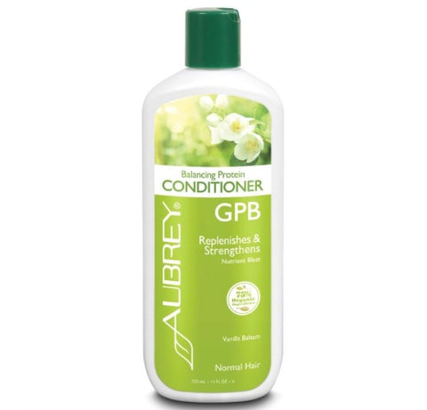 Aubrey Organics GPB Conditioner Replenishes & Strengthens Normal Hair Vanilla Balsam