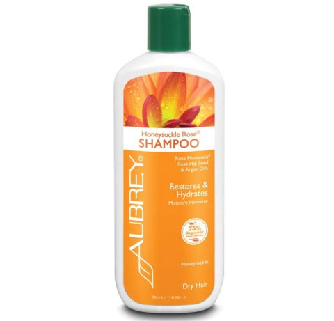 Aubrey Organics Honeysuckle Rose Shampoo Dry Hair