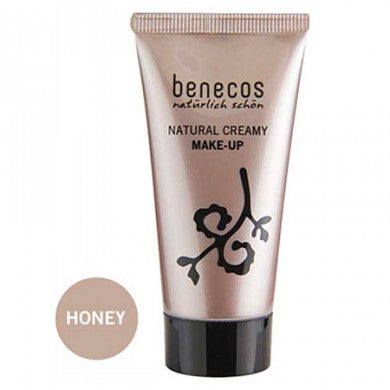 Benecos Natural Creamy Flawless Face Matte Foundation: Honey