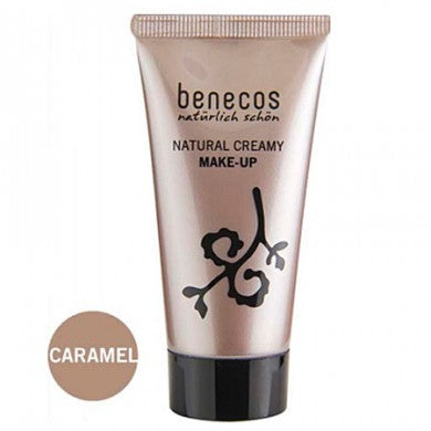 Benecos Natural Creamy Flawless Face Matte Foundation: Caramel