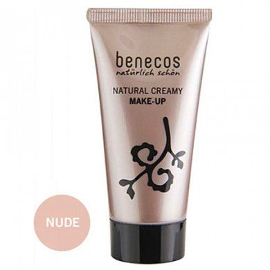 Benecos Natural Creamy Flawless Face Matte Foundation: Nude
