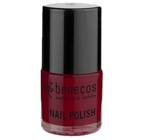 Benecos Happy Nails Natural Nail Polish - Cherry Red