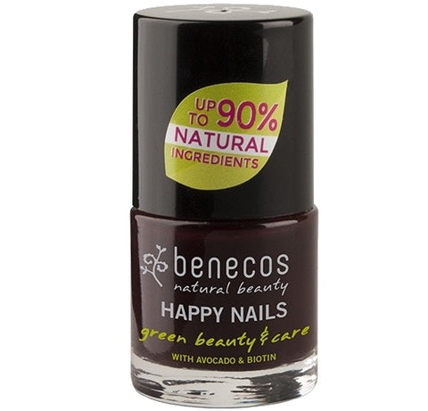 Benecos Happy Nails Natural Nail Polish - Vamp