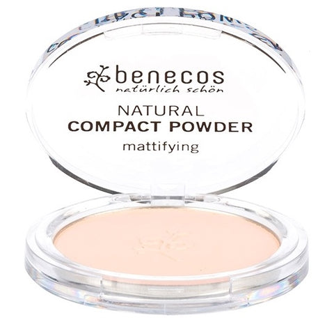 Benecos Natural Mattifying Compact Powder - Fair