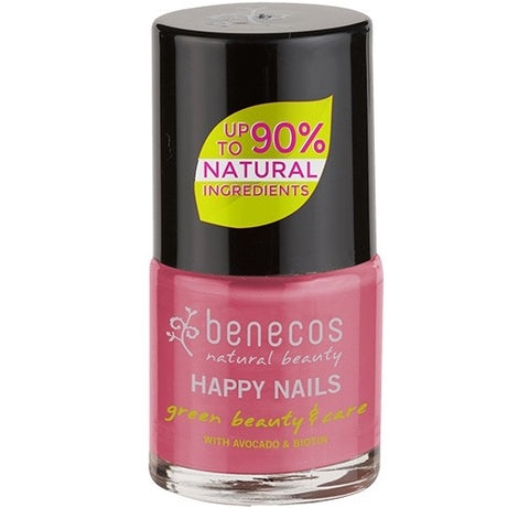 Benecos Happy Nails Natural Nail Polish - Flamingo