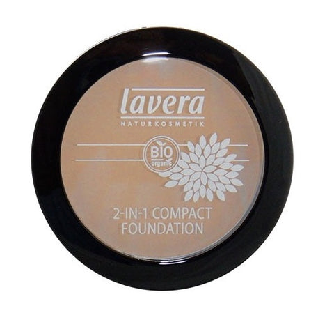 Lavera 2 - in - 1 Compact Foundation  - Ivory #1
