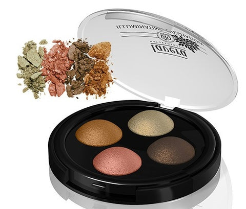 Lavera Illuminating Eyeshadow Quattro - Indian Dream