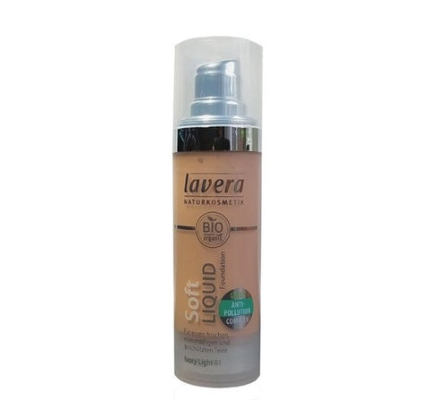 Lavera Soft Liquid Foundation - Ivory Light