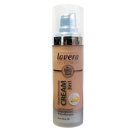 Lavera Tinted Moisturizer Cream 3 in 1 Q10 - Ivory Rose