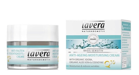 Lavera Basis Anti-Aging Moisturizing Cream with Q10