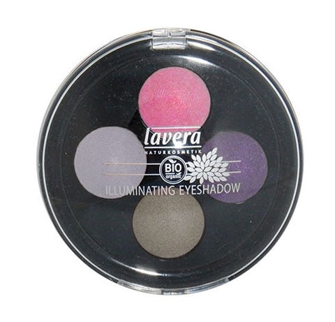 Lavera Illuminating Eyeshadow Quattro - Lavender Couture