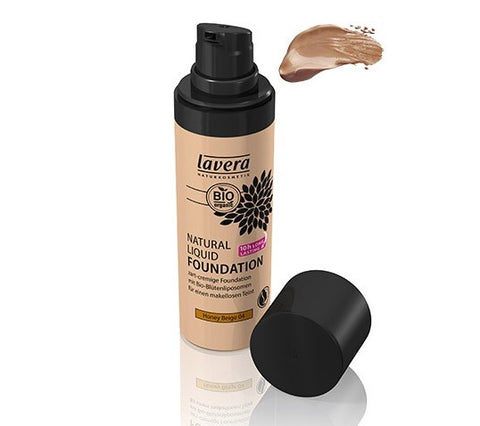 Lavera Natural Liquid Foundation - Honey Beige