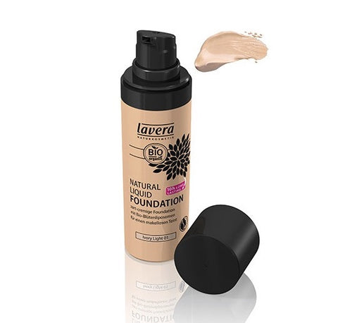 Lavera Natural Liquid Foundation - Honey Sand