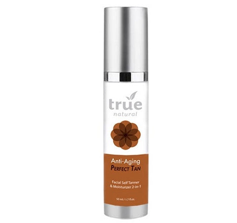 True Natural Perfect Tan Face, Self Tanner & Moisturizer 2-in-1