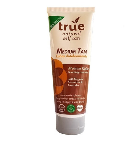 True Natural Organic Self Tanner Light-Medium Tan