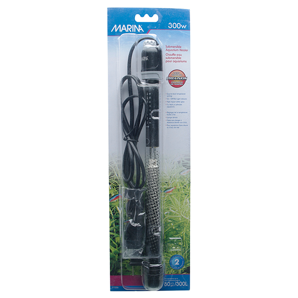 Marina Submersible Aquarium Heater - 300 Watt