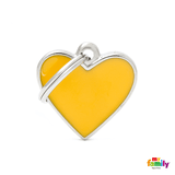 My Family Small Heart Pet ID Tag | Pisces Pets