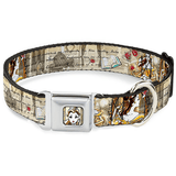 Buckle-Down Beauty & the Beast Leash / Collar | Pisces Pets