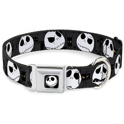 Buckle-Down Small Smiling Jack Collar | Pisces Pets