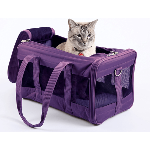 Sherpa Original Deluxe Pet Carrier Purple | Pisces Pets