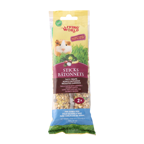 Living World Guinea Pig Sticks | Pisces Pets