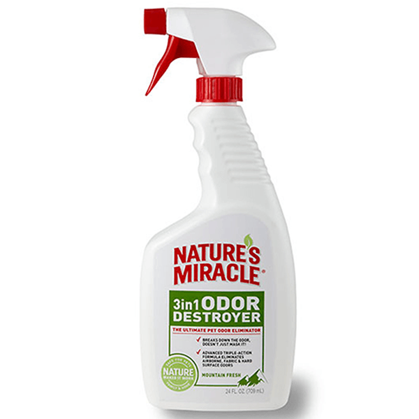 Nature's Miracle 3 in 1 Odor Destroyer Unscented | Pisces Pets