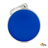 My Family Big Circle Pet ID Tag | Pisces Pets