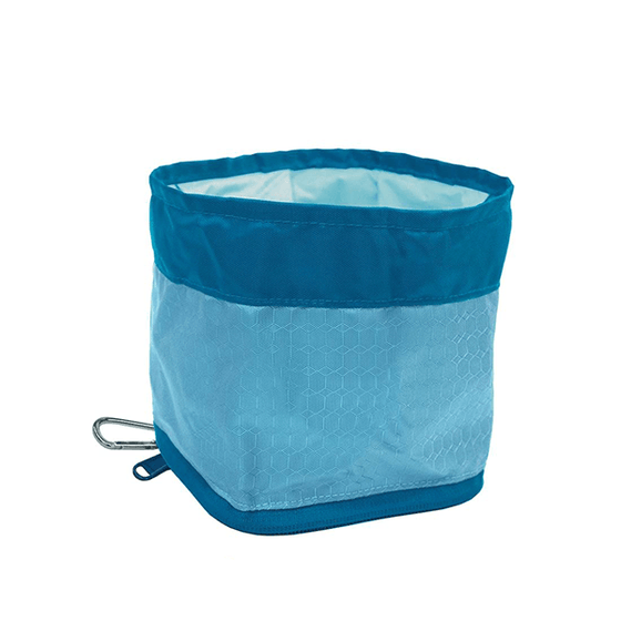 Kurgo Zippy Bowl Blue | Pisces Pets