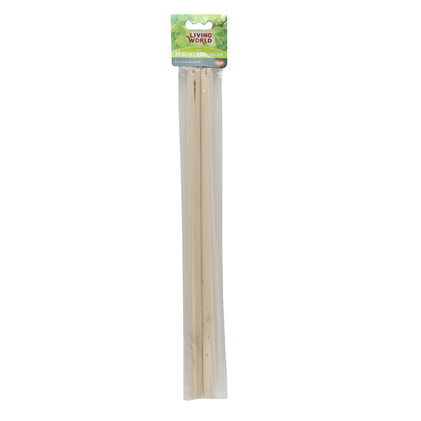 Living World Wooden Perch 2 Pack | Pisces Pets