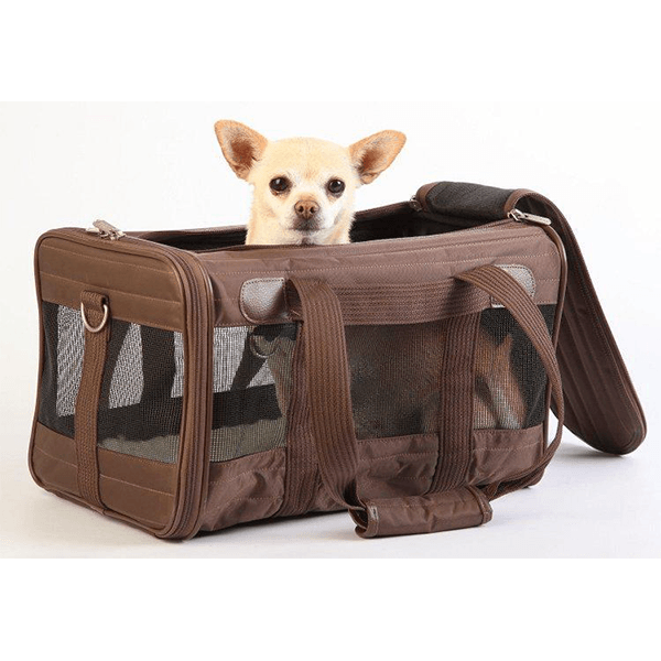 Sherpa Original Deluxe Pet Carrier Brown | Pisces Pets