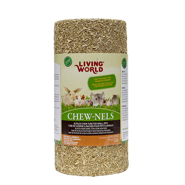 Living World Alfalfa Chew-nels | Pisces Pets
