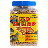 Zoo Med Large Sun-Dried Red Shrimp | Pisces Pets
