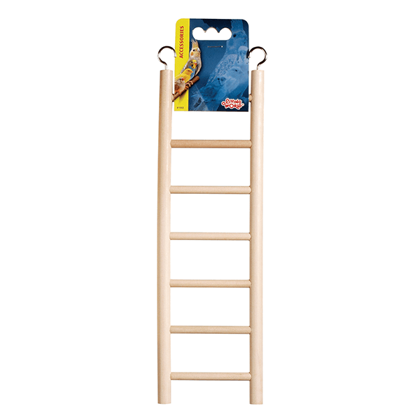 Living World Wooden Bird Ladder | Pisces Pets