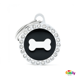 My Family Circle & Bone Pet ID Tag | Pisces Pets