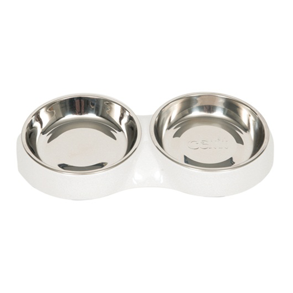 Catit Double Feeding Dish - Available in 2 Colours | Pisces Pets