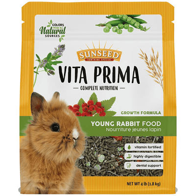 Sunseed Vita Prima Young Rabbit Formula - 1.8 kg | Pisces Pets