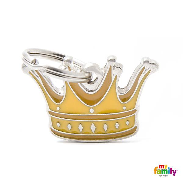 My Family Crown Pet ID Tag | Pisces Pets