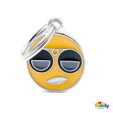 My Family Cool Emoticon Pet ID Tags | Pisces Pets