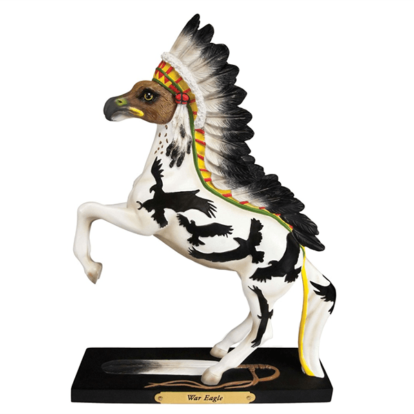 Painted Ponies Figurine - War Eagle | Pisces Pets