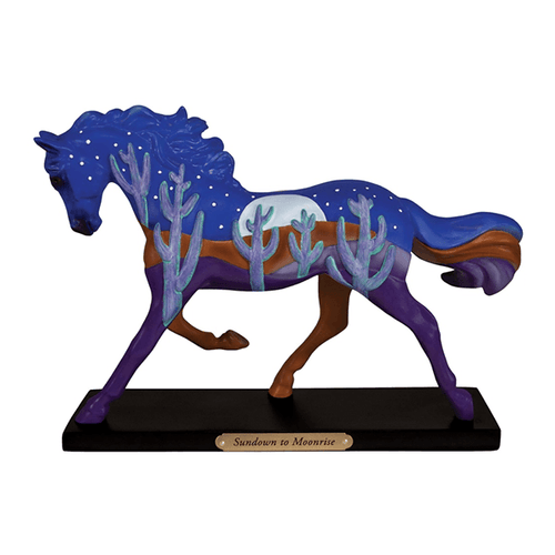 Painted Ponies Figurine - Sundown to Moonrise | Pisces Pets