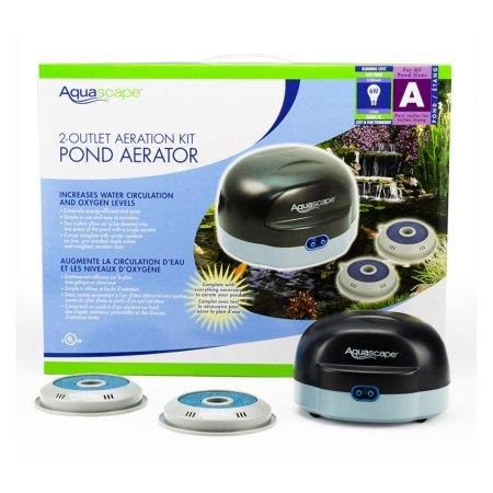 Aquascape 2-Outlet Aeration Kit Pond Aerator | Pisces Pets