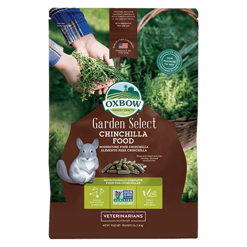 Oxbow Garden Select Chinchilla Food - 1.36Kg | Pisces Pets