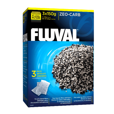 Fluval Zeo-Carb 3 Pack | Pisces Pets
