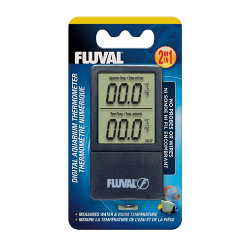 Fluval 2-in-1 Digital Aquarium Thermometer | Pisces Pets