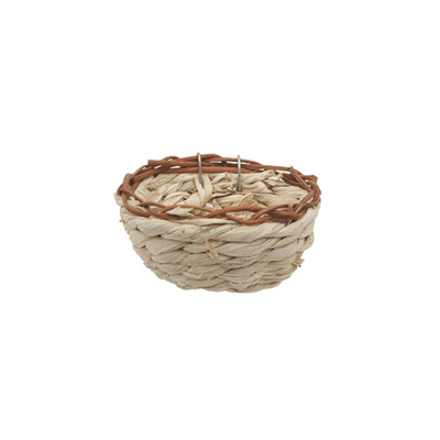 Living World Maize Peel Bird Nest for Canaries | Pisces Pets