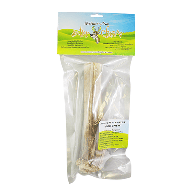 Nature's Own Monster Antler Dog Chew | Pisces Pest