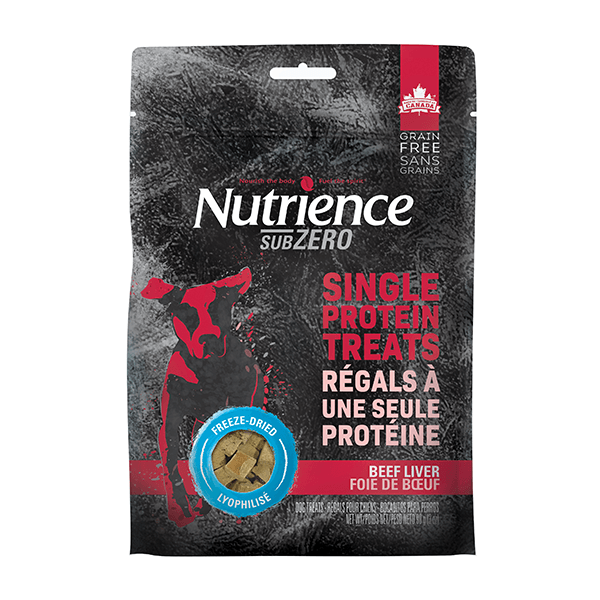 Nutrience SubZero Beef Liver Single Protein Treats | Pisces Pets